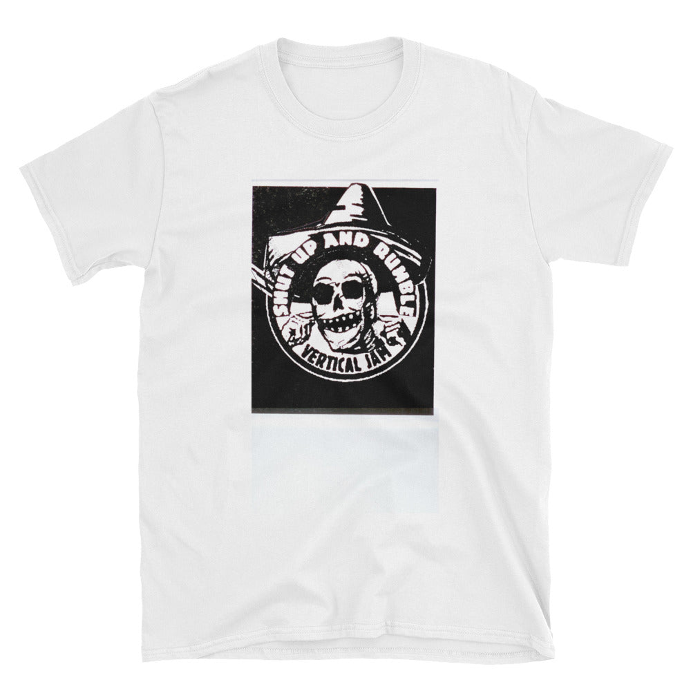 SHUT UP and Rumble CSP Style Short-Sleeve Unisex T-Shirt
