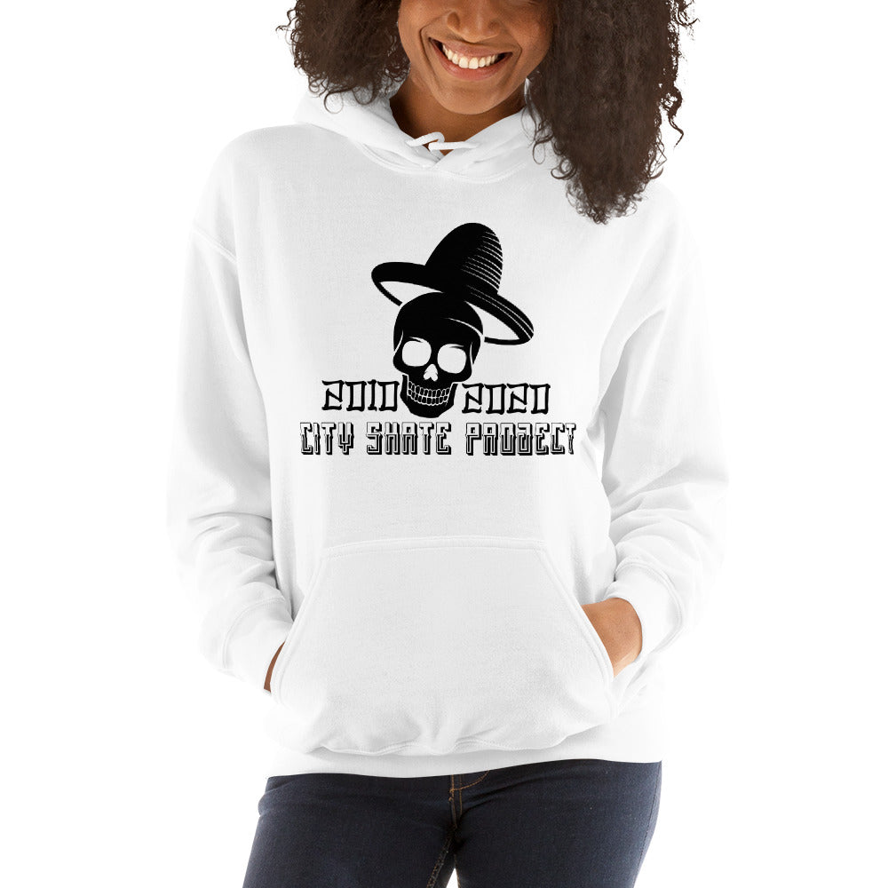 City Skate Project 10 Years and counting Unisex Hoodie