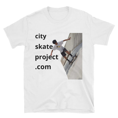 Skateboarder Alan G Short-Sleeve Unisex T-Shirt