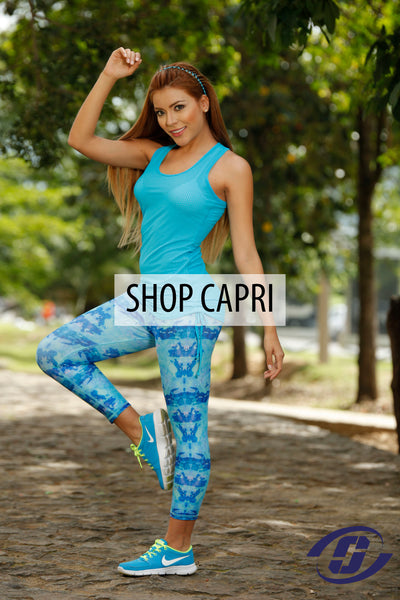Women's private label Capri Leggings - Yoga Pants - Activewear