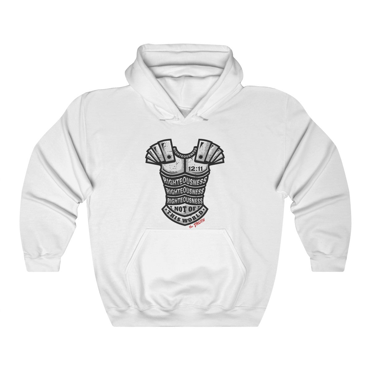 Put on the Breastplate of Righteousness- Discover an approach to witnessing using this Christian Hoodie so easy anyone can do it.