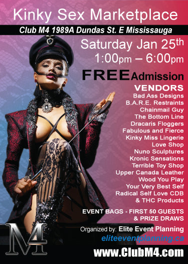 Jan 25 '20 - B.A.R.E. is vending at Club M4