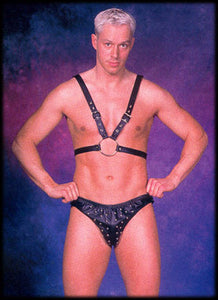 Men's Buckled Half Harness
