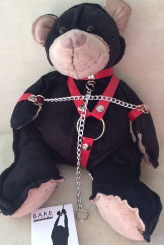 Bondage Black Bear 9""