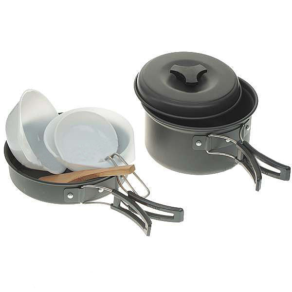 New 6 in 1 Mini Outdoor Cooking Picnic Tools Set