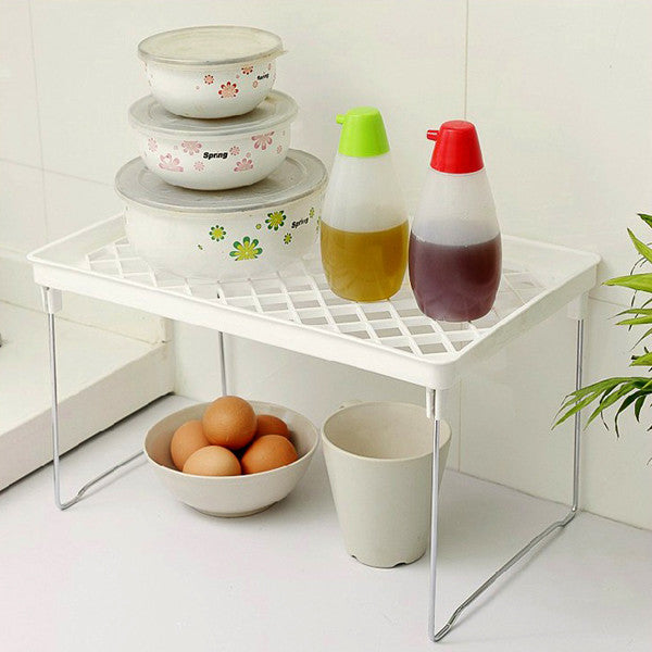 Multifunctional Kitchen Foldable Desktop Debris Storage Rack Kitchen Sundry Rack
