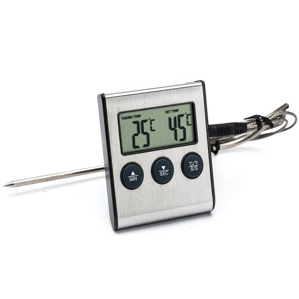 Electric Digital Food BBQ Barbecue Thermometer