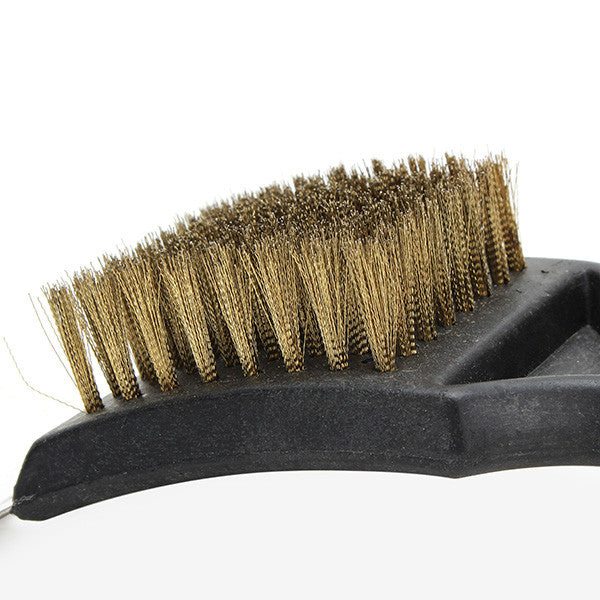 Barbecue Grill Wire Cleaning Brush - Plastic Brush