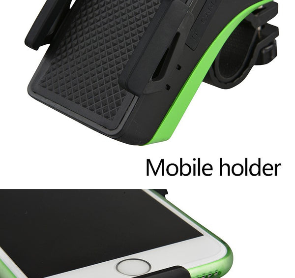 Waterproof Bicycle Phone Holder Bluetooth Audio MP3 Player Speaker