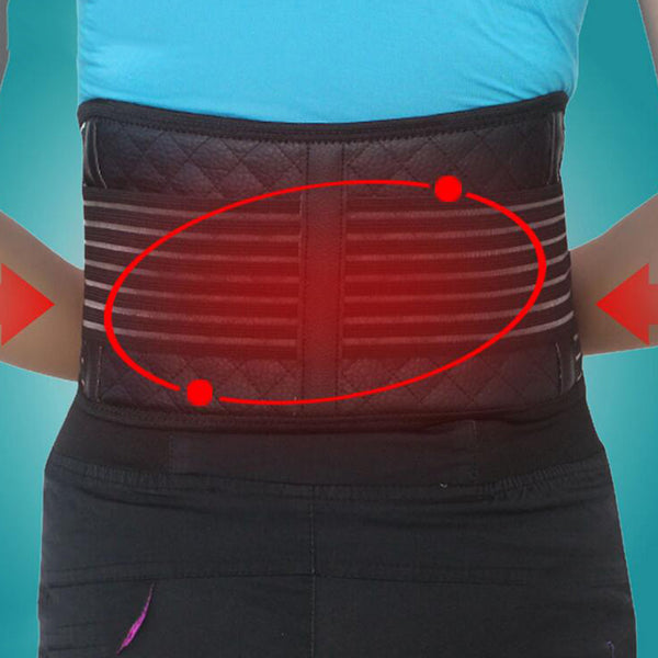 Tourmaline Magnetic Therapy Self Heating Lower Back Waist Support Backache Belt
