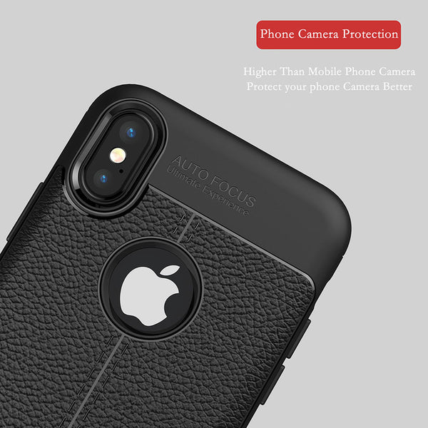 Luxury PU Leather Phone Cases For iphone X