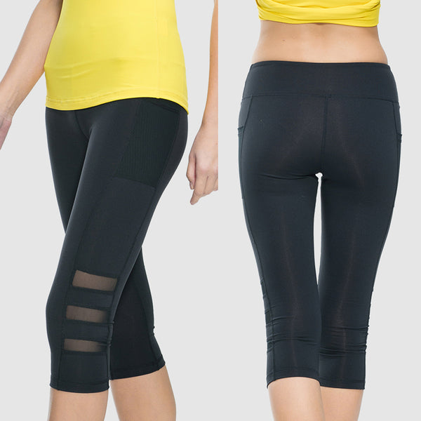 High Waist Yoga pants with Pockets - Tummy Control