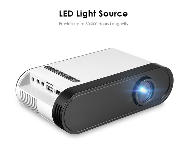 1080P Mini LED Portable Projector with Speaker