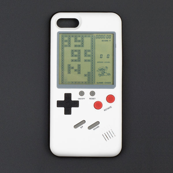 Tetris Gameboy Phone Cases for iPhone