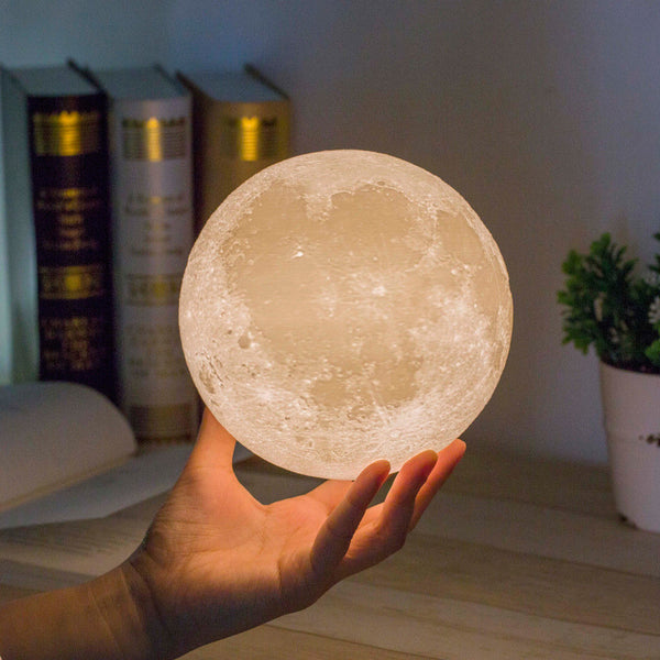 Moon LED Rechargeable Night Lamp
