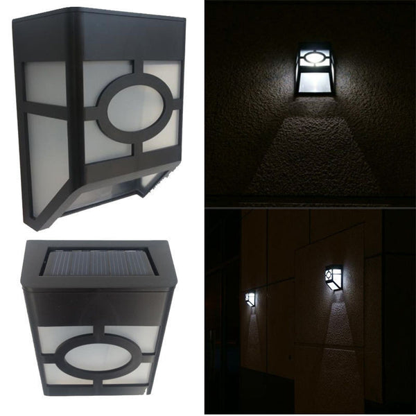 Solar Powered Wall Mount LED Outdoor Light