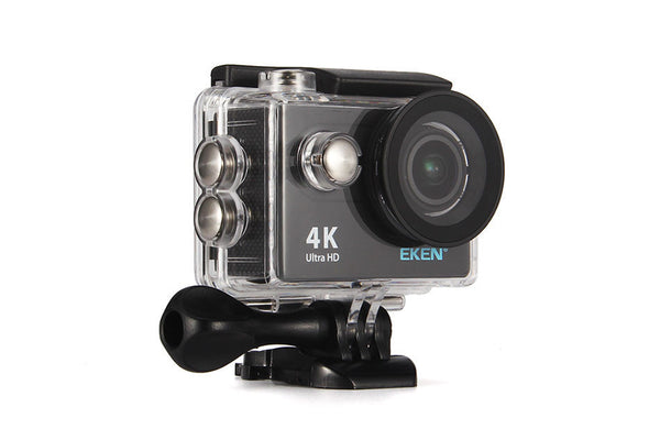 Original EKEN 4K Waterproof WiFi Sport Action Camera/camcorder with Waterproof Accessory Pack