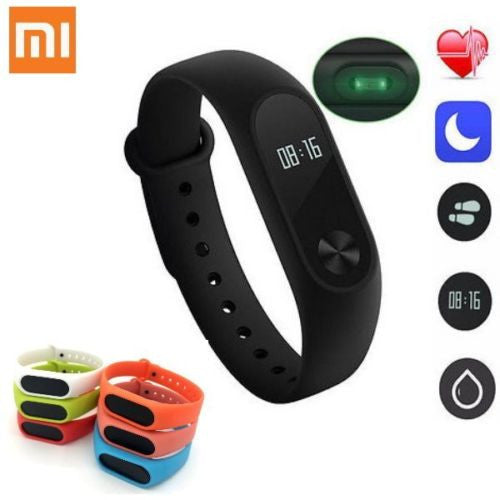 Xiaomi M2 Smart Waterproof Bluetooth Wrist band with Heart Rate and Fitness Tracker