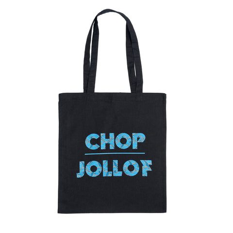 Chop Jollof Wax Print Totes (other colours available)
