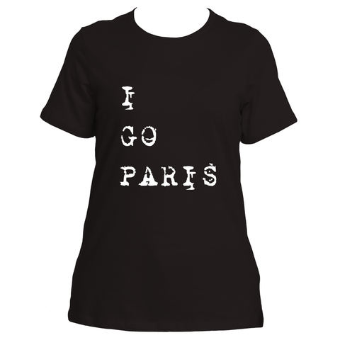 I Go Paris (Black)