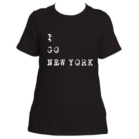 I Go New York (Black)