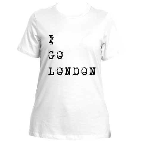 I Go London (White)