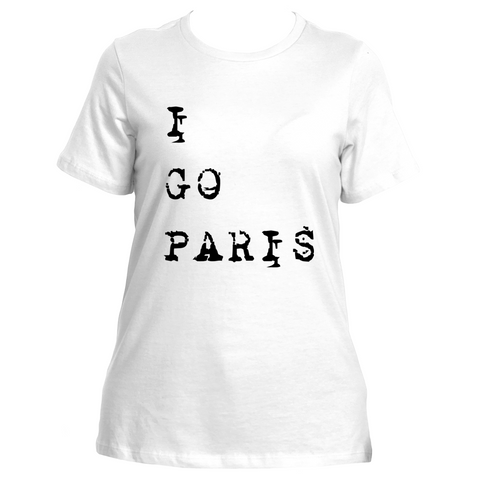 I Go Paris (White)