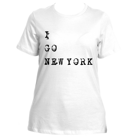 I Go New York (White)