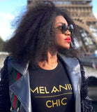 Melanin Chic Tee (Black)