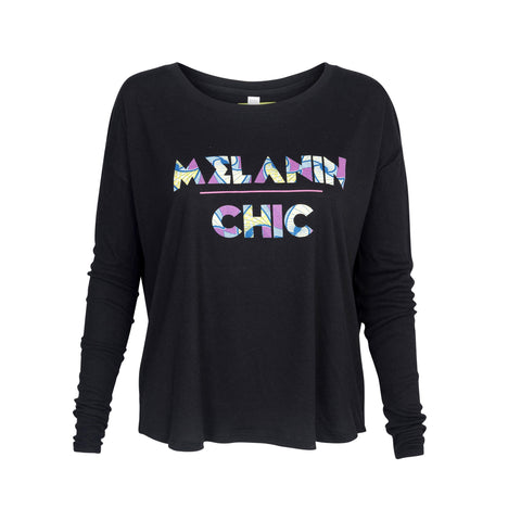 Melanin Chic Wax Print Top