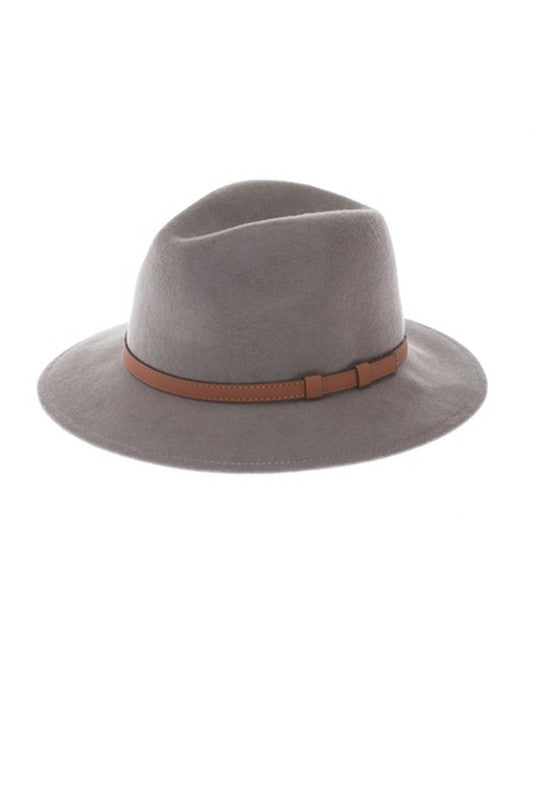 Nomad Small Brim Felt Hat - Grey - Barefoot Dreamer