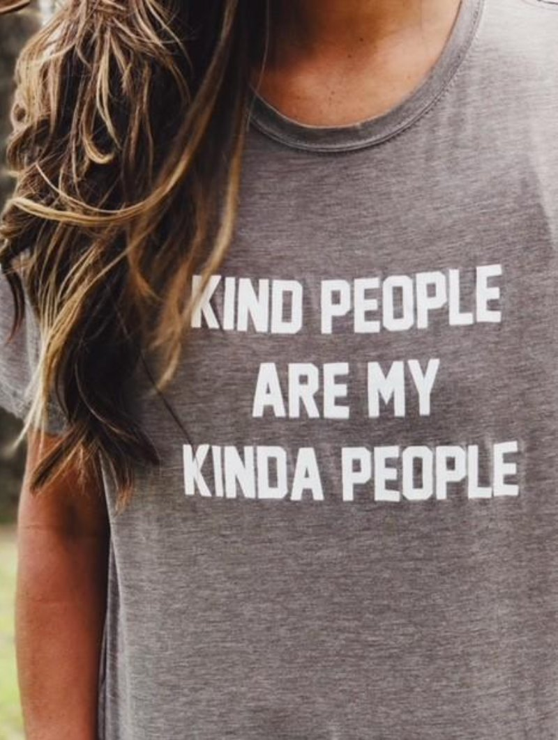 Kind People Graphic Tee - Barefoot Dreamer