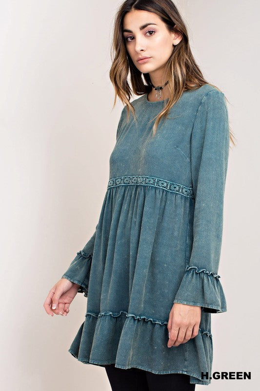 Birdie Hand-Dyed Boho Dress - Barefoot Dreamer