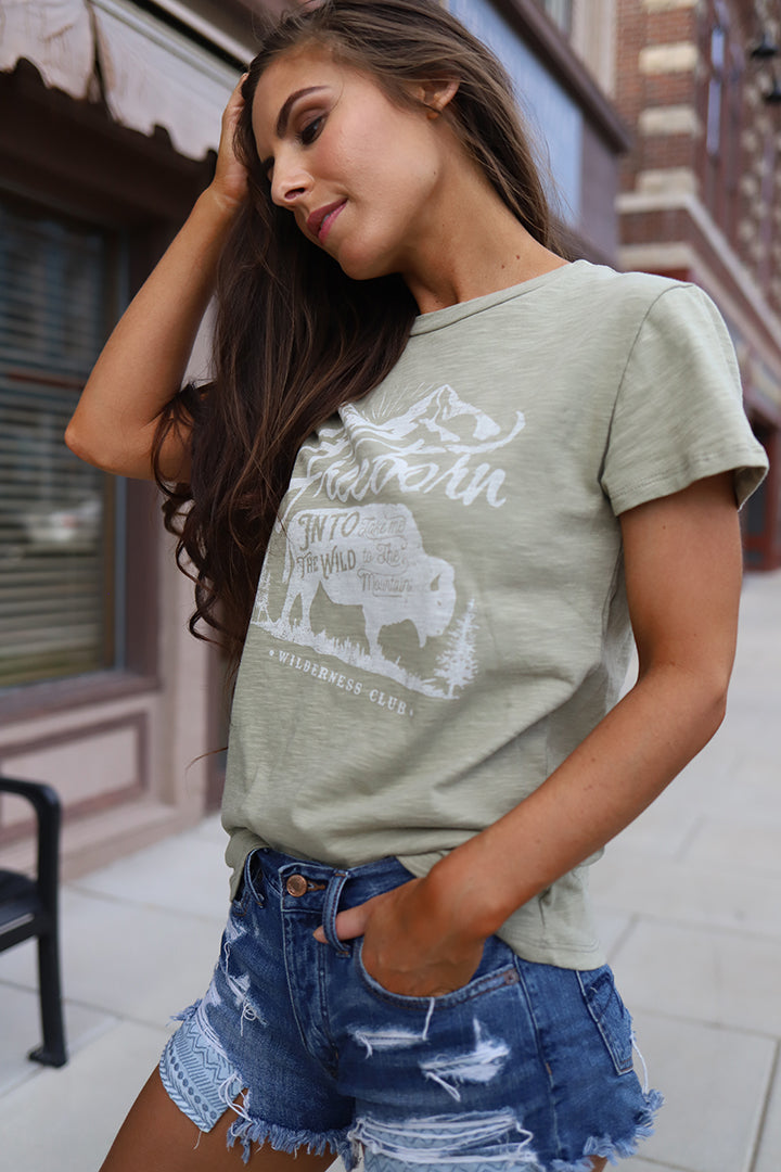 Into The Wild Graphic Tee - Barefoot Dreamer