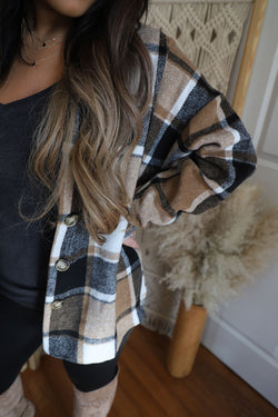 Blakely Plaid Shacket