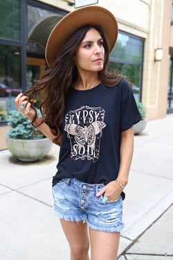Gypsy Soul Moth Graphic Tee