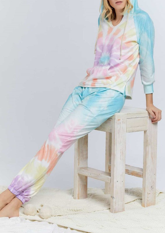 Tie Dye Lounge Set 2Pc Set