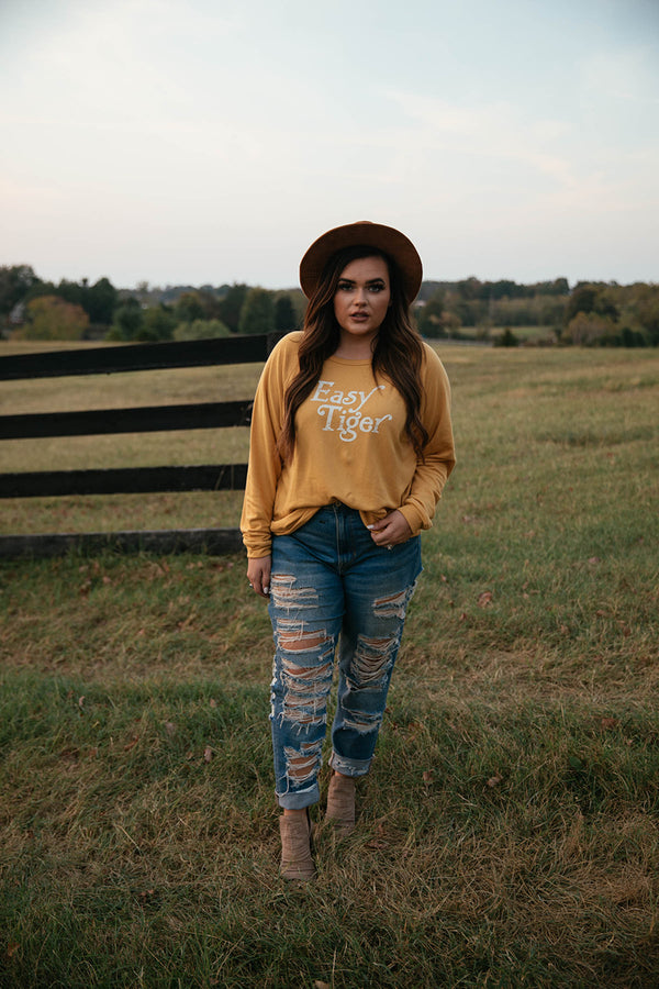 Easy Tiger Graphic Sweatshirt - Barefoot Dreamer