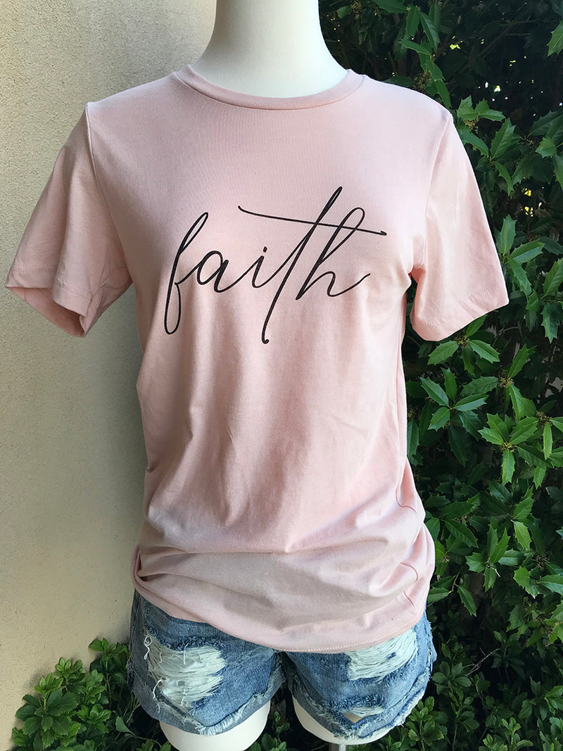 Faith Graphic Tee - Barefoot Dreamer