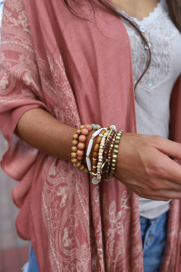 Morocco Nights Bracelet Stack