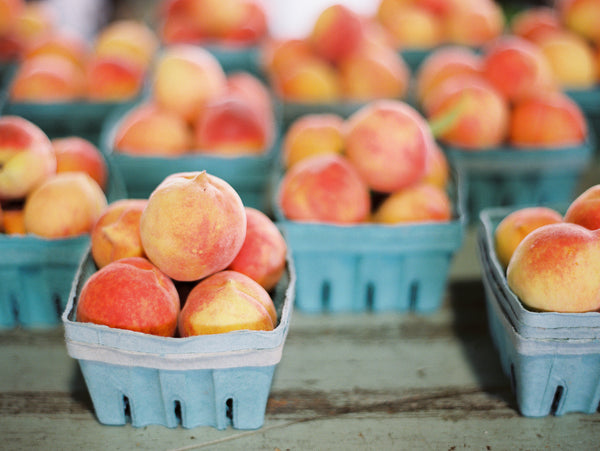 Farmer's Market Peaches Fine Art Print