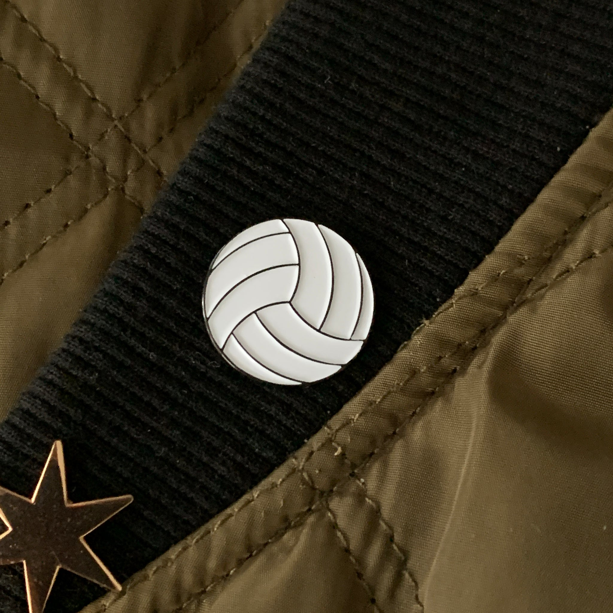 Volleyball Pin