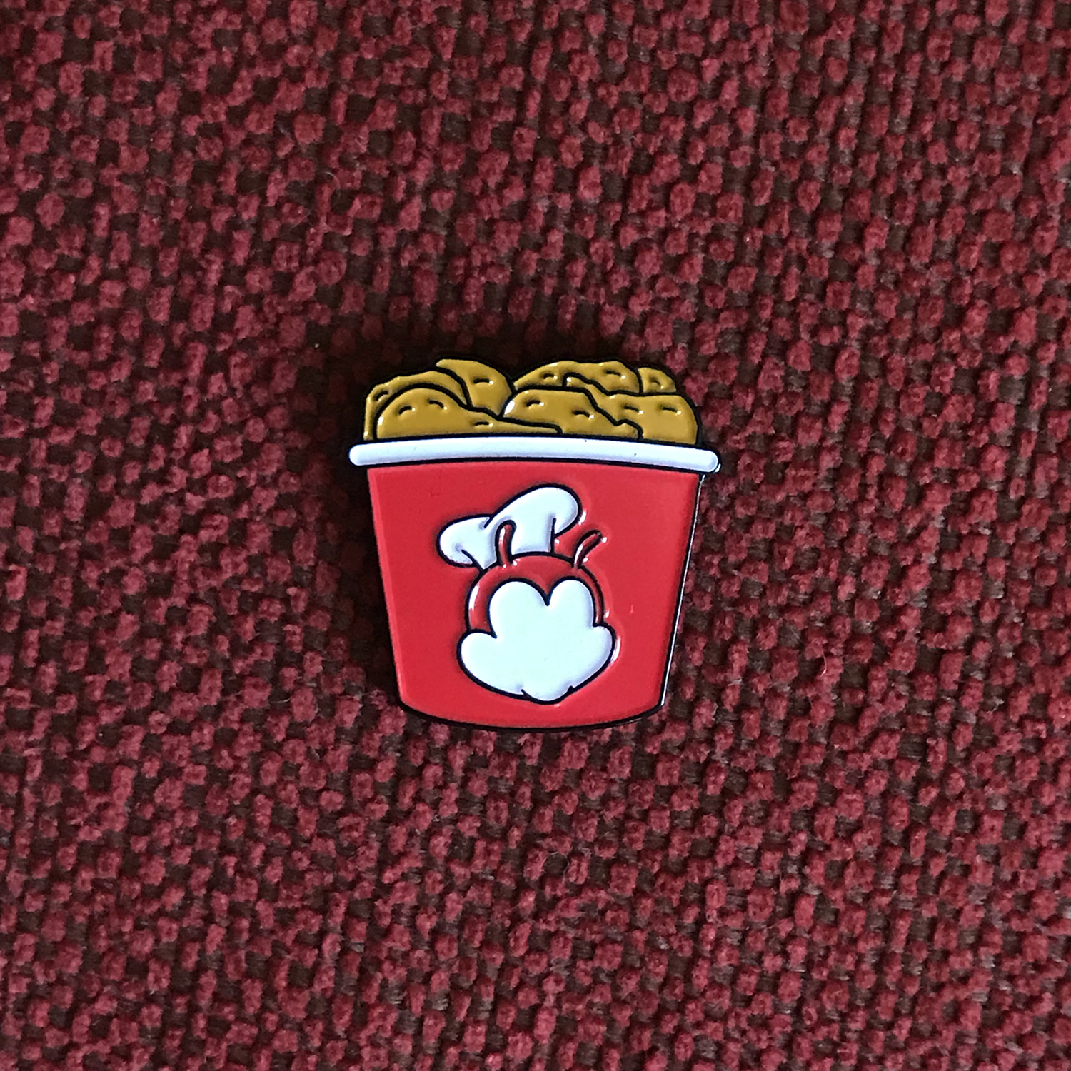 Joy Bucket Pin