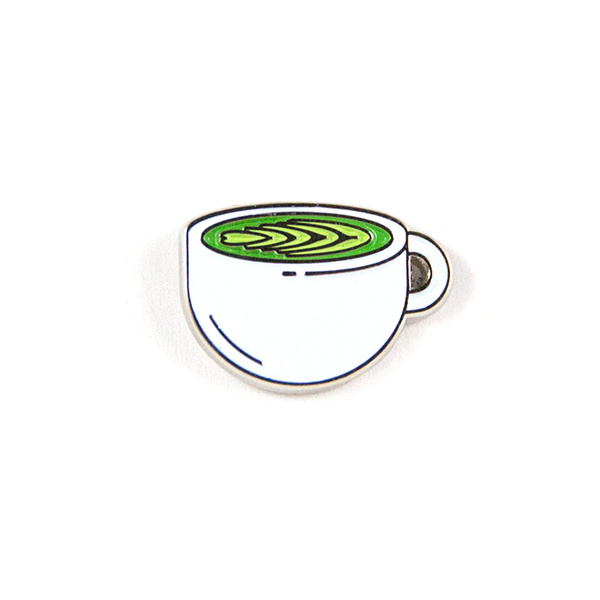 Matcha Latte Pin