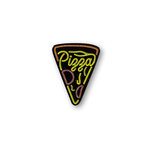 Pizza Neon Sign Pin