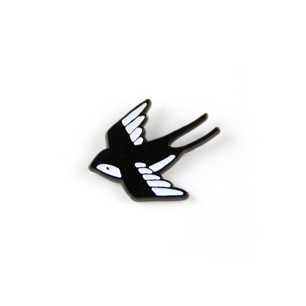 Swallow Tattoo Pin