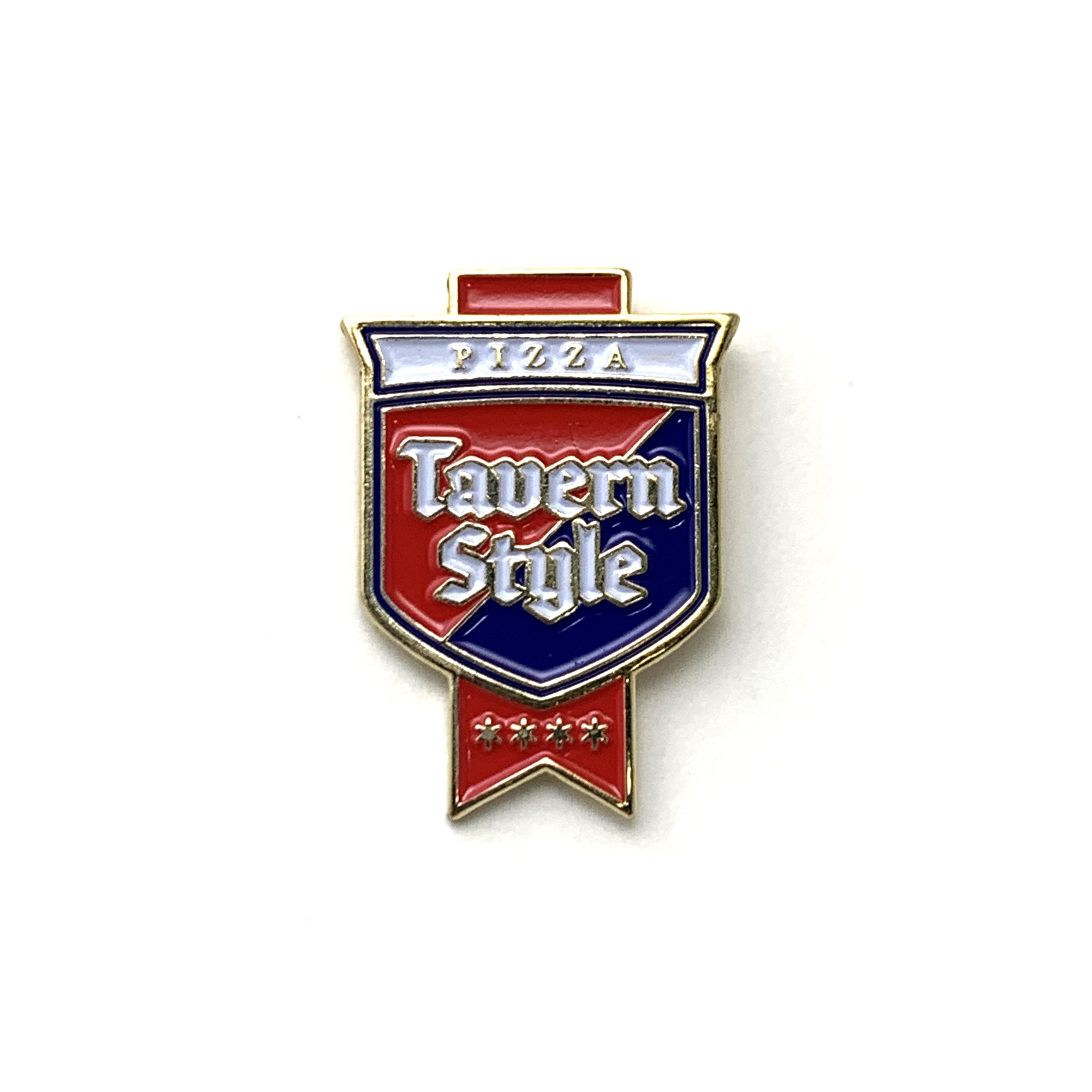 Tavern Style Pizza Sign Pin