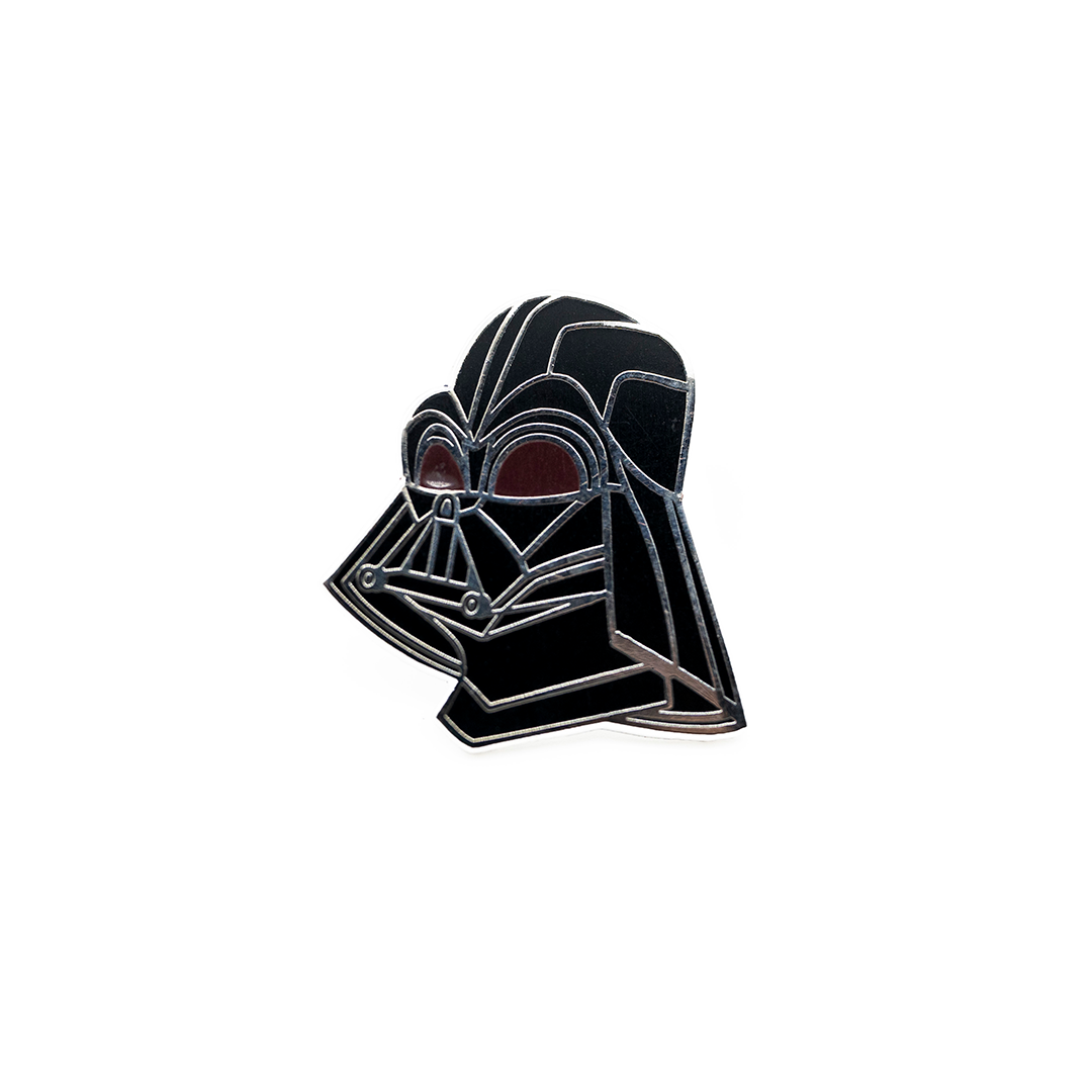 The Dark Side Helmet Pin