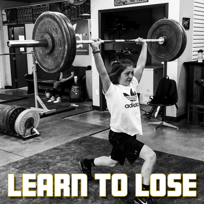 Youth Motivation: Learning to Lose