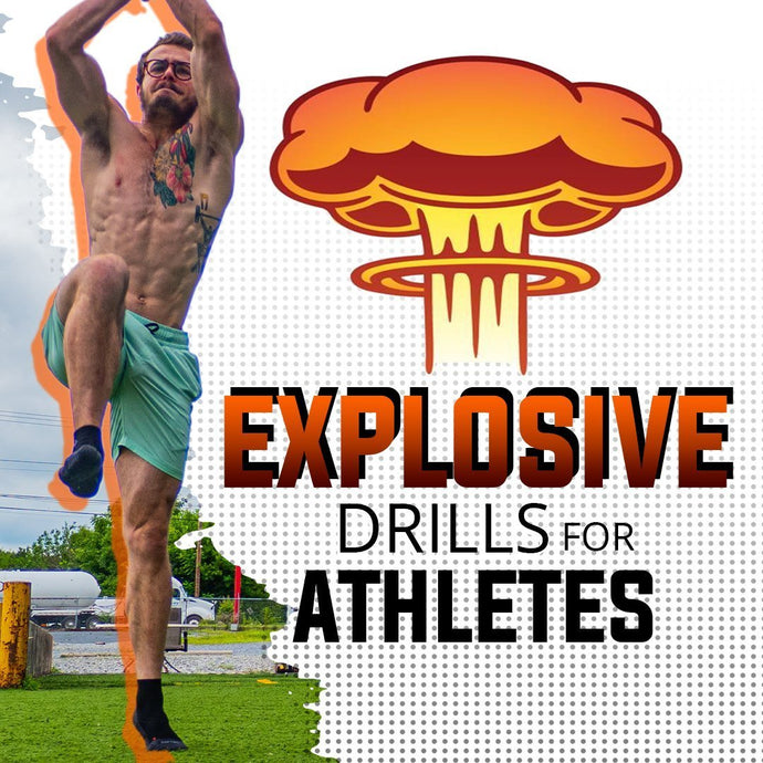 Top 5 Explosive Bodyweight Exercises For Athletes | AT HOME WORKOUT